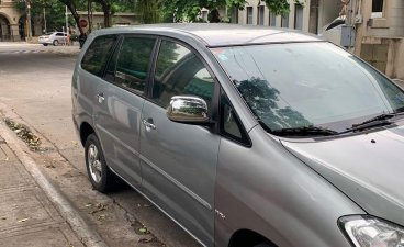 Silver Toyota Innova for sale in Muntinlupa
