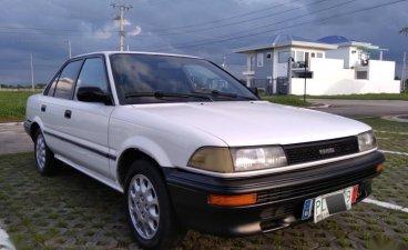 Pearl White Toyota Corolla for sale in Cabanatuan