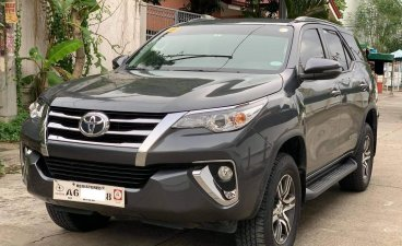 Black Toyota Fortuner 2018 for sale in Las Piñas