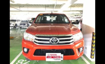 Orange Toyota Hilux 2018 at 27364 km for sale in Manila