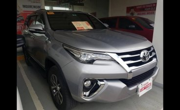 Grey Toyota Fortuner 2017 SUV for sale in Manila