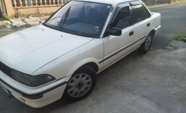 Pearl White Toyota Corolla for sale in Manila