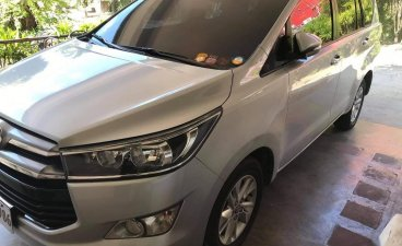 Silver Toyota Innova 2017 for sale in San Fernando