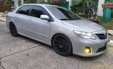 Selling Silver Toyota Corolla altis 2012 in Quezon City
