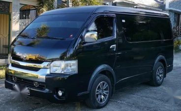 Sell Black 2016 Toyota Hiace in Manila