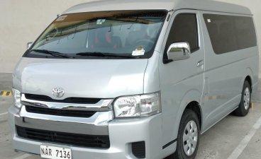 Selling Silver Toyota Hiace 2010 in Las Piñas