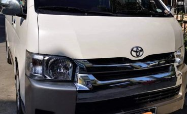 Sell White 2018 Toyota Hiace in Las Piñas