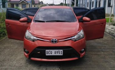 Sell Orange 2016 Toyota Vios in Quezon