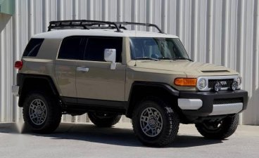Sell Cream 2015 Toyota FJ Cruiser in Mandaluyong