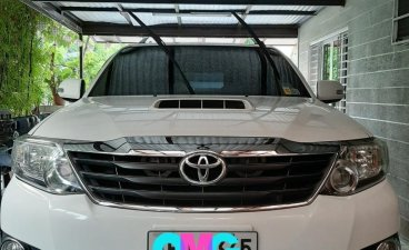 Selling White Toyota Fortuner 2015 in Paseo de Sta. Rosa