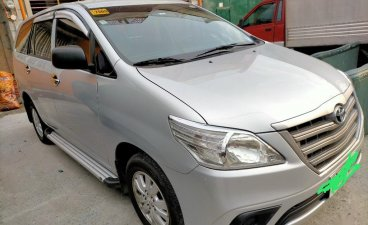 Silver Toyota Innova 2015 for sale in Caloocan City