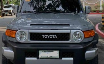 Sell Silver 2018 Toyota FJ Cruiser in Makati