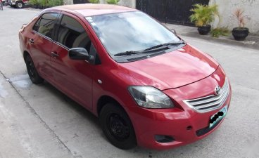 Red Toyota Vios 2013 for sale in Manila