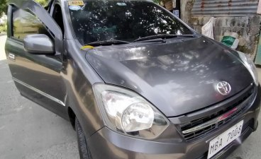 Silver Toyota Wigo 2017 for sale in Antipolo
