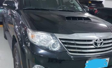 Black Toyota Fortuner 2015 for sale in Makati City