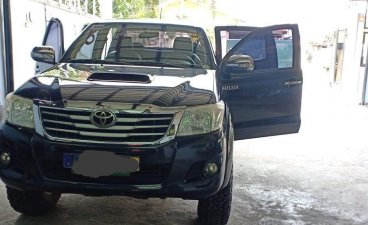 Black Toyota Hilux 2014 for sale in Angeles