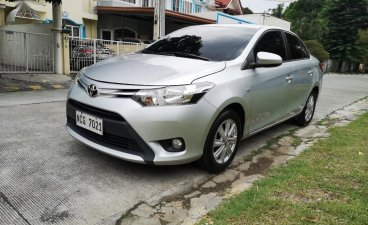 Silver Toyota Vios 2016 for sale in Parañaque