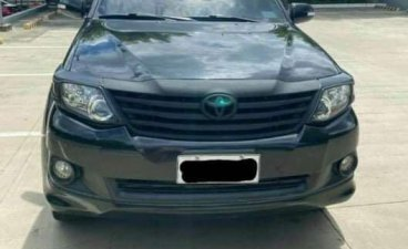 Sell Black 2014 Toyota Fortuner in Pateros