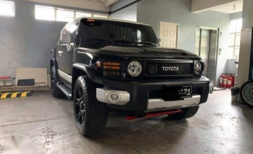 Black Toyota FJ Cruiser 2015 for sale in Manila