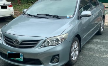Silver Toyota Corolla Altis 2013 for sale in Quezon City