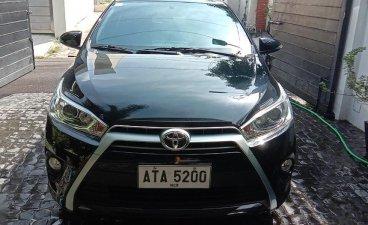 Black Toyota Yaris 2009 for sale in Manila
