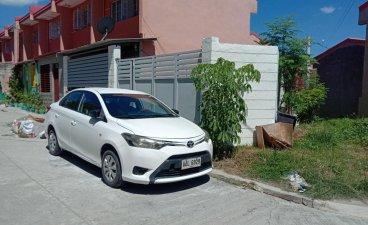 Pearl White Toyota Vios 2014 for sale in Manila