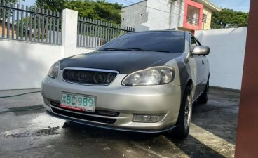 Sell Silver 2002 Toyota Altis in Manila