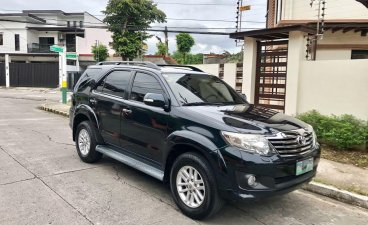 Black Toyota Fortuner 2012 for sale in Manila