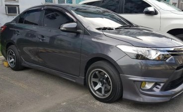 Grey Toyota Vios 2013 for sale in Makati