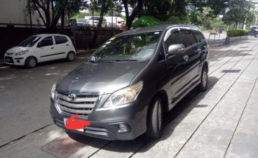 Grey Toyota Innova 2015 for sale in Manila