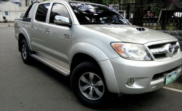 Selling Silver Toyota Hilux 2008 in Baguio