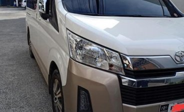 White Toyota Hiace Super Grandia 2019 for sale in Lucena