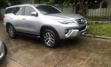 Silver Toyota Fortuner 2018 for sale in Cebu City