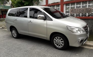 Silver Toyota Innova 2016 for sale in Quezon City