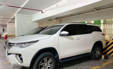 White Toyota Fortuner 2018 for sale in Manila
