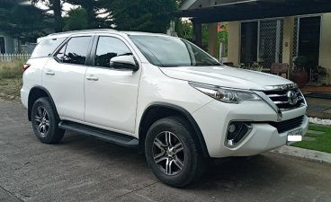 Sell Pearl White 2018 Toyota Fortuner in Davao City