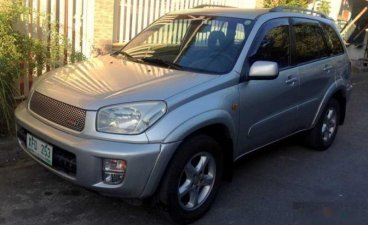 Grey Toyota Rav4 2002 SUV / MPV at 180000 for sale