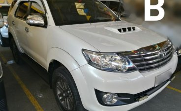 Selling White Toyota Fortuner 2015 in Manila