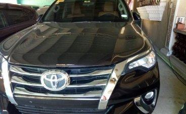 Sell Black 2017 Toyota Fortuner in Santa Rita