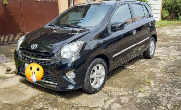 Black Toyota Wigo 2015 for sale in Calamba