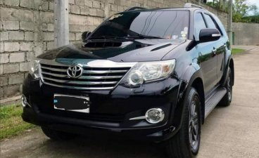 Black Toyota Fortuner 2016 for sale in Baguio