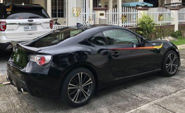 Black Toyota 86 2014 for sale in Cavite