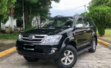 Black Toyota Fortuner 2006 for sale in Imus