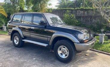 Blue Toyota Land Cruiser 1998 for sale in Bacolod