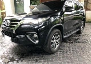 Black Toyota Fortuner 2017 for sale in Manila