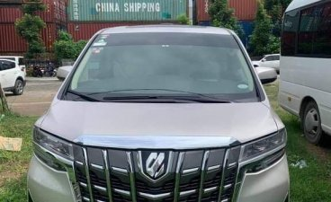 Silver Toyota Alphard 2019 for sale in Manila
