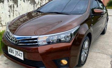 Brown Toyota Corolla Altis 2015 for sale in Tarlac