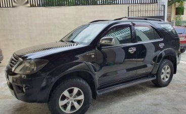 Black Toyota Fortuner 2005 for sale in Quezon