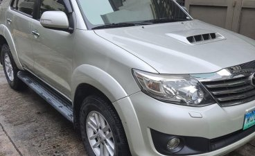 Selling Silver Toyota Fortuner 2014 in Parañaque