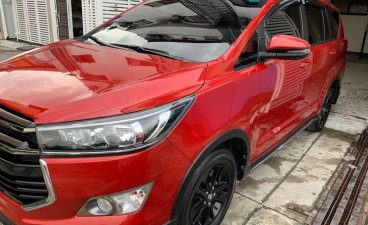 Sell Red Toyota Innova 2018 for sale in Quezon City